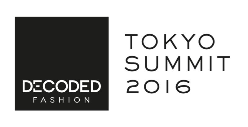 ラグジュアリー体験の未来を探る!!入場料3万円、ファッション業界に新しいテクノロジーを紹介するイベント「Decoded Fashion Tokyo Summit 2016」