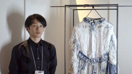 "【Interview】「SICF18 の出展クリエイター:現役ムサ美生」 ""一着で服の生成と劣化の循環を表す"""