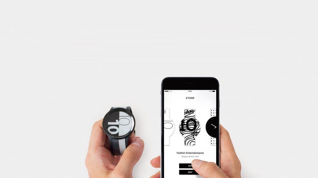 毎日違う、自分らしいデザインを楽しめる!ディスプレイウォッチ「FES Watch U」が発売