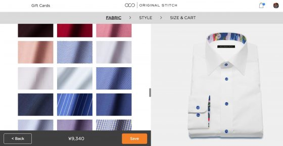 「成功パターン+α」で仕掛ける、10億通りのカスタムシャツブランド「オリジナルスティッチ」