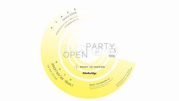 音楽×ブランドの展示/即売会『OPEN PARTY 005』がSHIBUYA FASHION WEEK最終日に開催