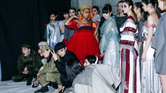"""【Report】Keio Fashion Creatorが手がける""""東京""""をテーマにしたファッションショー"""