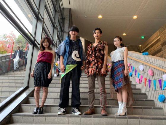 【Report】京都産業大学の「浮世絵師」がファッションショーを開催。テーマは『四季』。