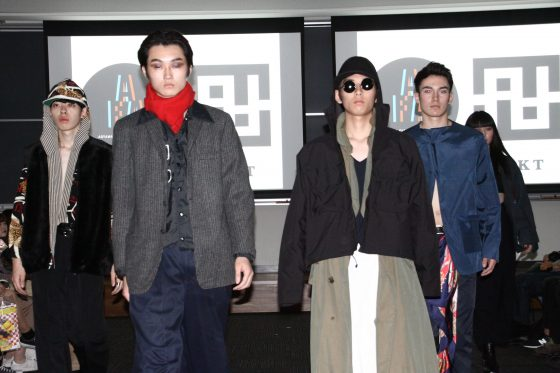 "【Report】青山服飾愛好会が団体初となるファッションショーを開催!テーマは""Gender-less"""