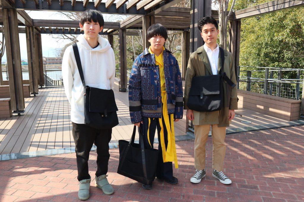 「大阪大学×倉敷帆布のバッグブランド、9Rcotton」  良いものは守るべき。阪大生が伝統産業にイノベーションを起こす?!|関西アイズ Vol.1