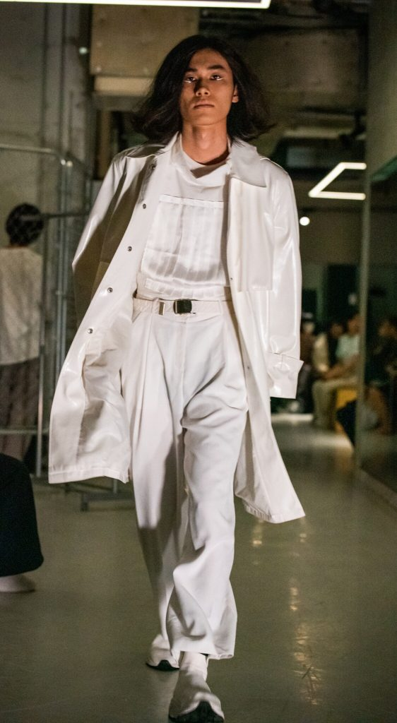 「ENJI」ファッションショー