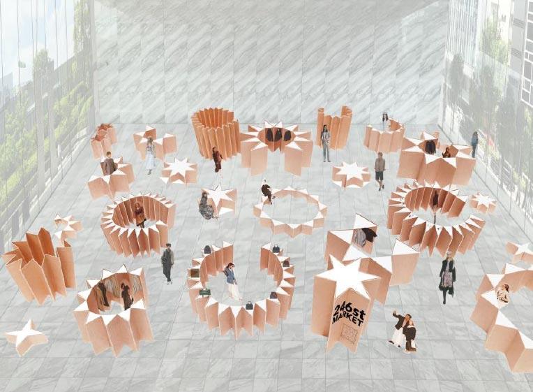 株式会社ワールドがサステナブルをコンセプトにしたPOP-UP型百貨店「246st MARKET」を開催